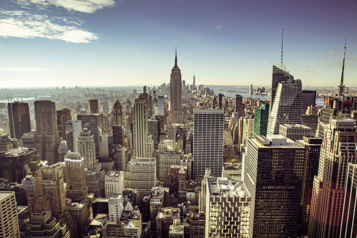 Big Apple from the Rock