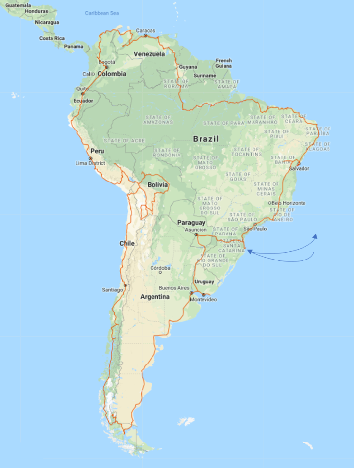 One Year around South America – The Travelling Irons